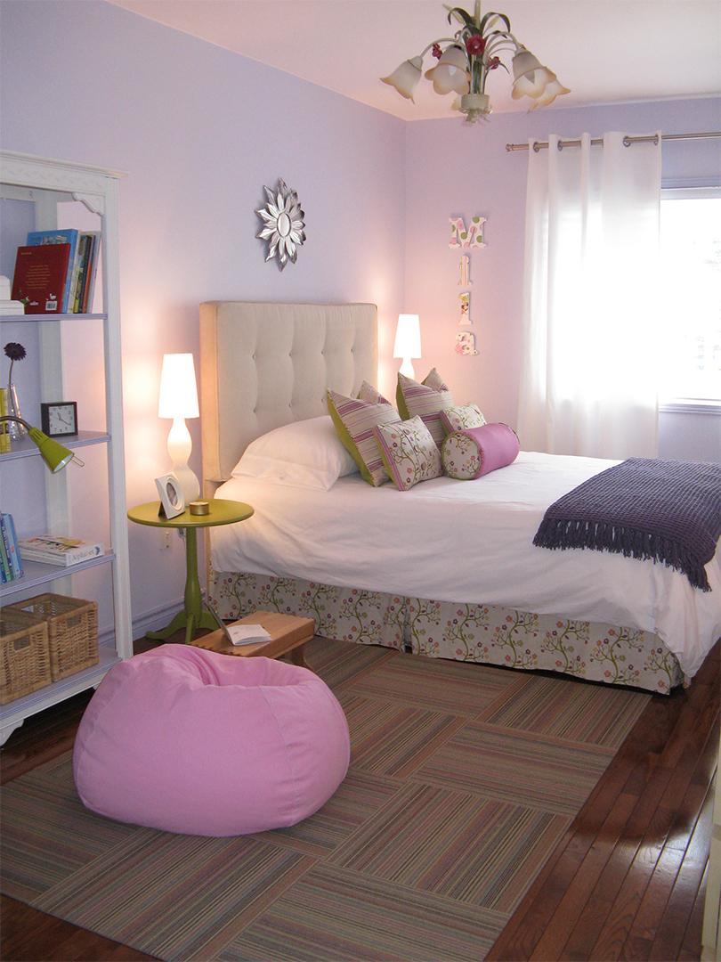 homefront redesigns project Beresford Avenue, Bloor West Village Tween pink bedroom