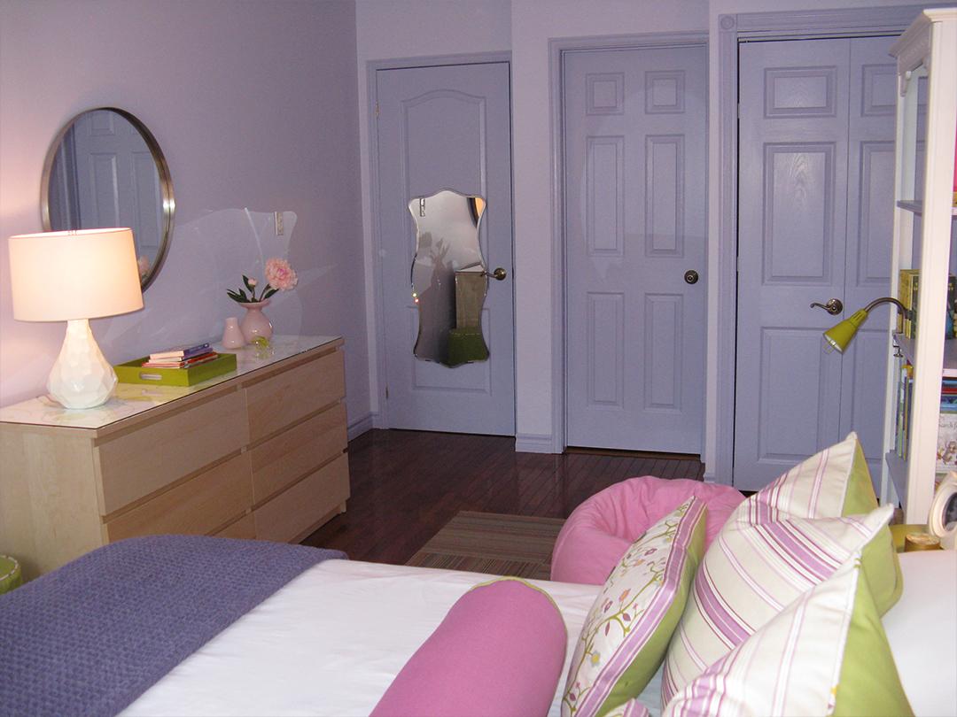 homefront redesigns project Beresford Avenue, Bloor West Village Teen bedroom