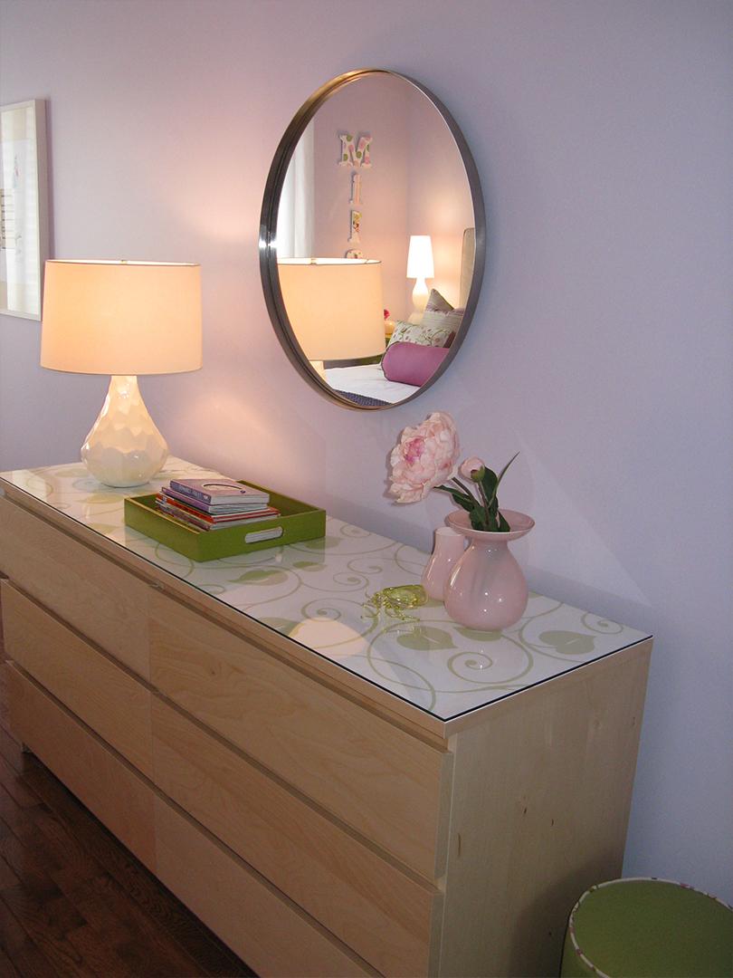 homefront redesigns project Beresford Avenue, Bloor West Village Teen bedroom dresser