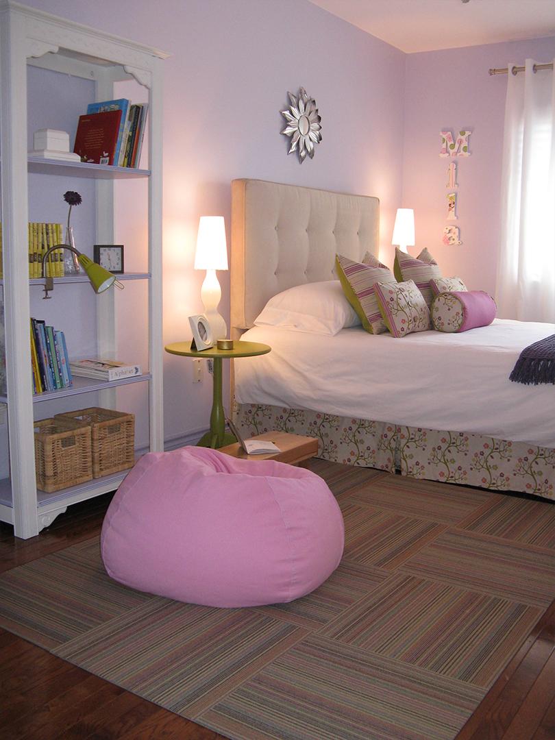 homefront redesigns project Beresford Avenue, Bloor West Village Tween bedroom