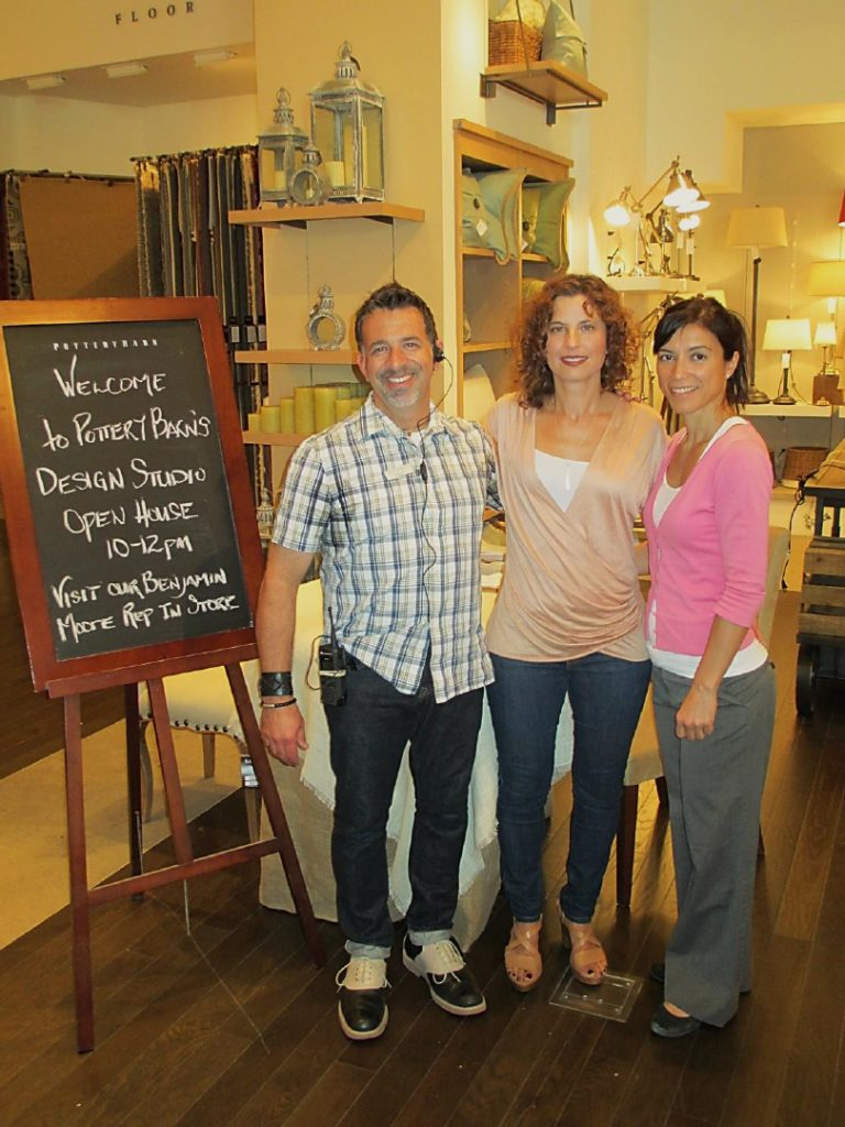 Dianne Amaral-Medeiros & others at Pottery Barn Design Studio Open House