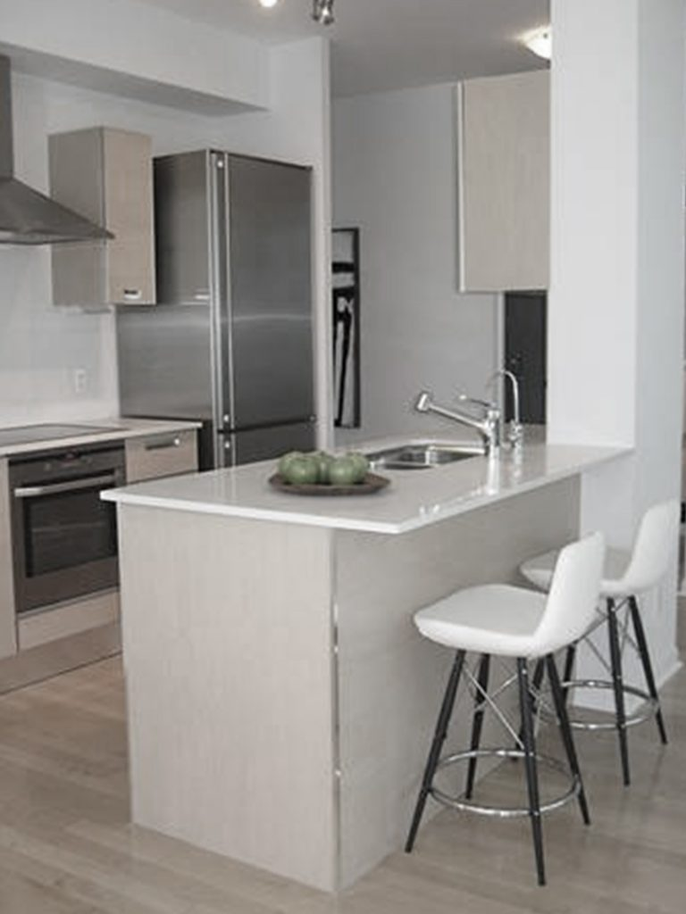 homefront redesigns project Toronto Islington Condo kitchen, Etobicoke