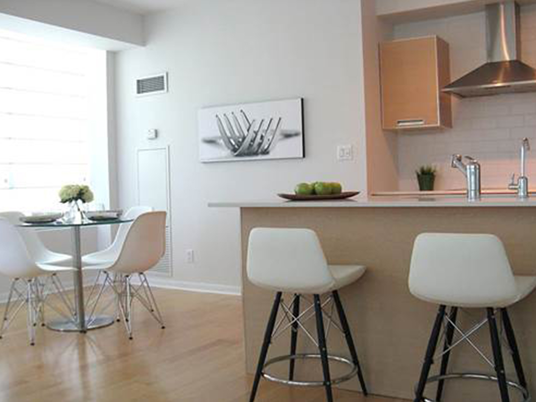 homefront redesigns project Islington Condo kitchen in Etobicoke, Toronto