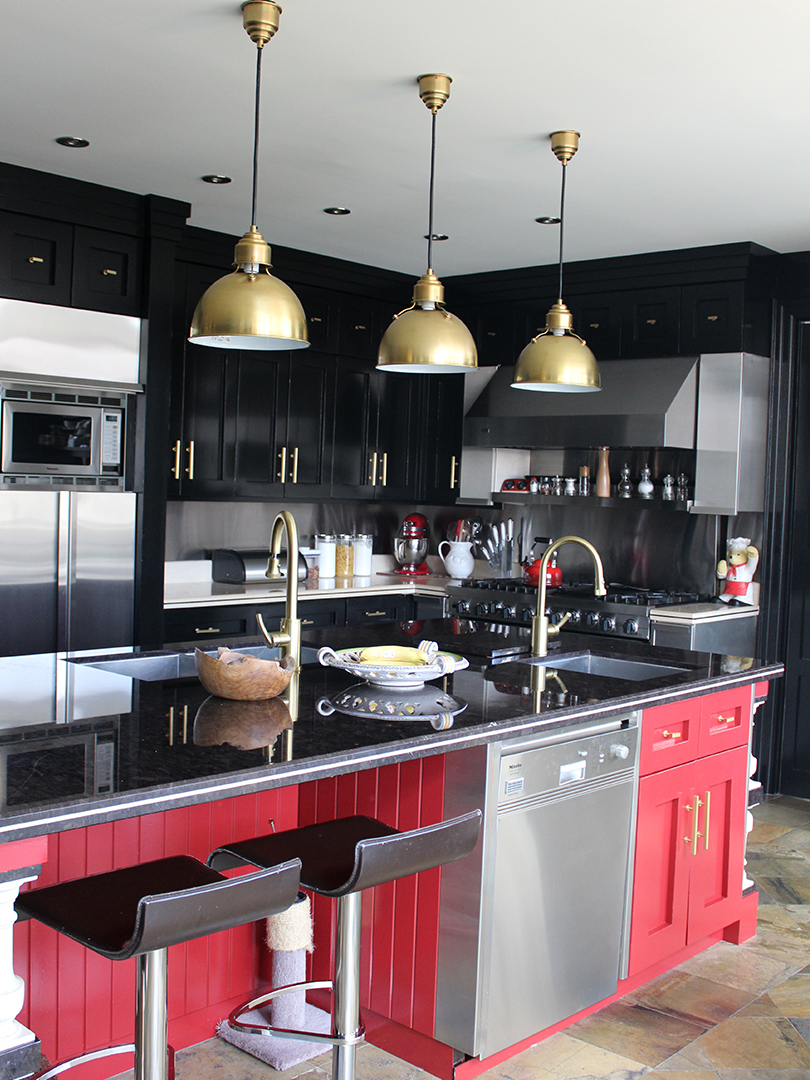 homefront redesigns project Vista Drive kitchen counter, Vista Heights, Mississauga, Toronto