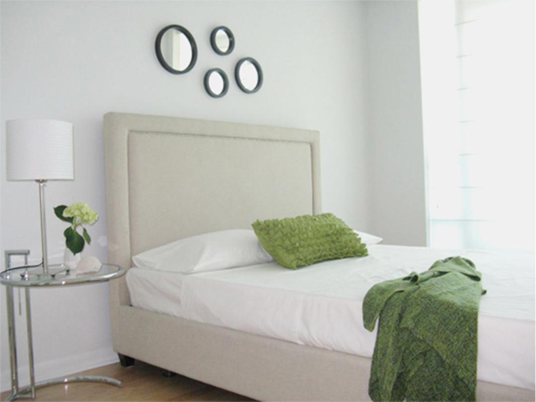 homefront redesigns project Toronto Islington Condo modern bedroom