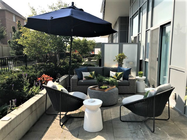 Yonge Street Condo patio photo2