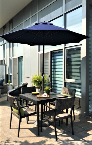 Yonge Street Condo patio photo3