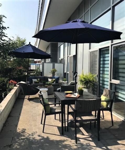 Yonge Street Condo patio photo4