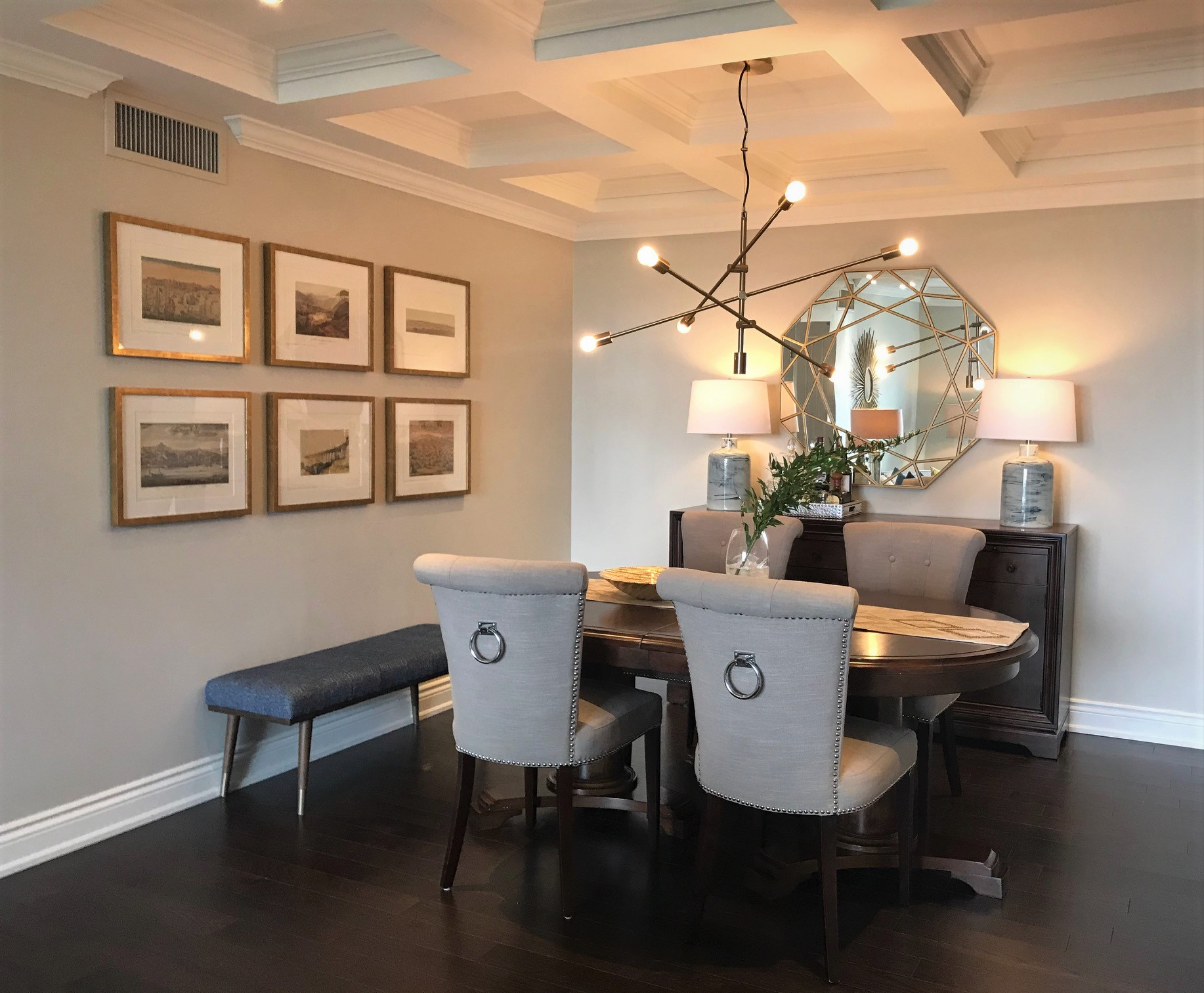 Homefront Redesigns Richmond dining-area