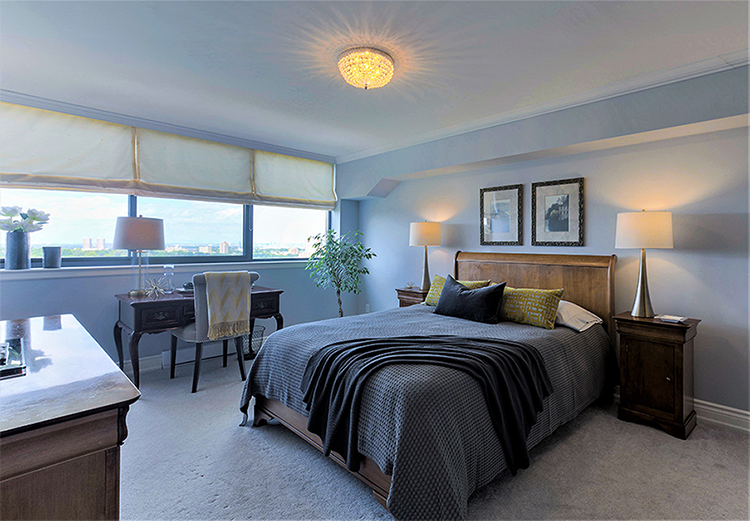 Homefront Redesigns Richview master-bedroom