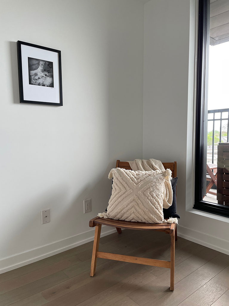 Homefront Redesigns Indian Grove bedroom area
