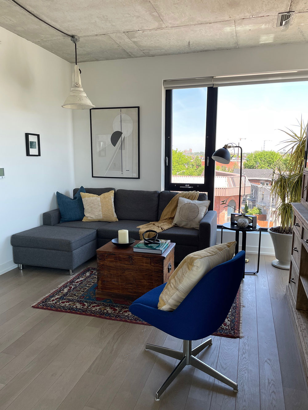 Homefront Redesigns Indian Grove living area