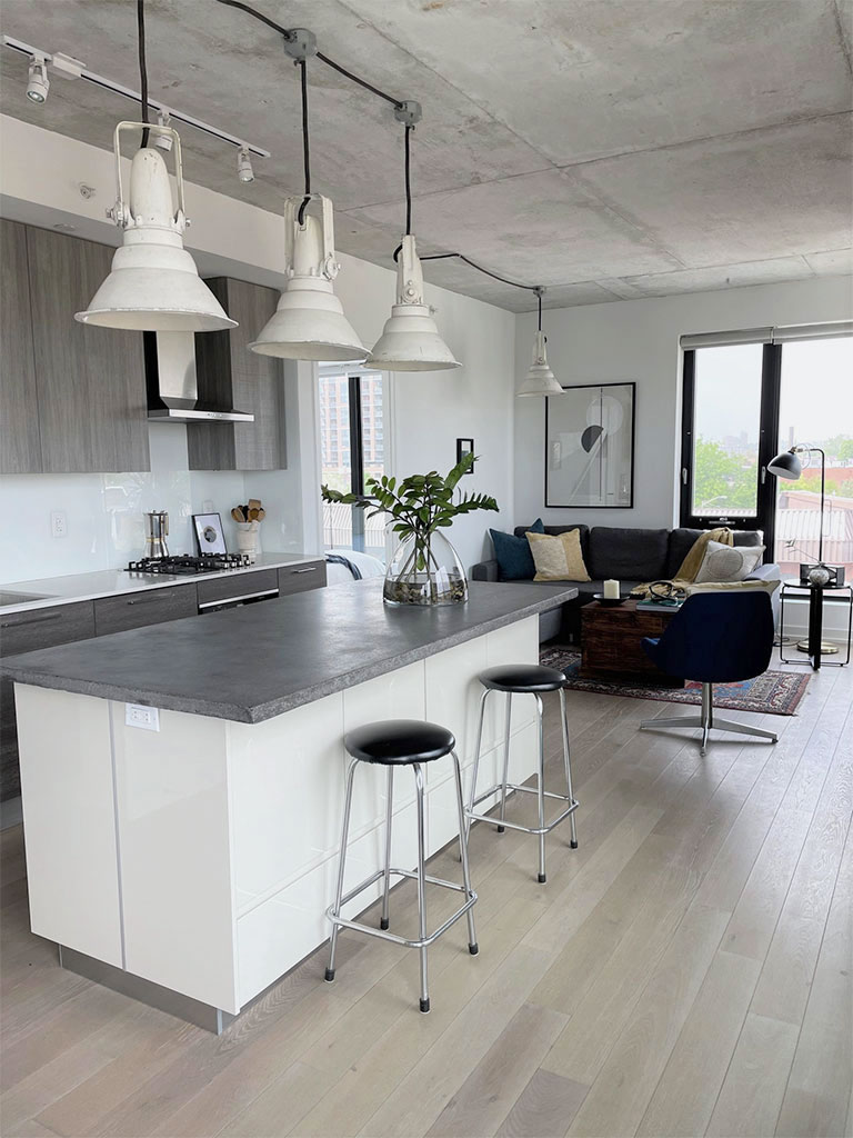 Homefront Redesigns Indian Grove Condo Cover Kitchen Photo
